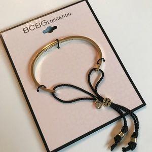 BCBG Generation bracelet adjustable gold-tone NWT